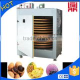 Hot-air circulating industrial food dryer/fish drum drying oven/machine
