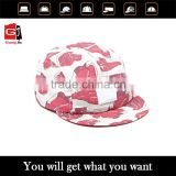 Factory custom fashion hot sale adjustable flat brim 5 panel kids baseball cap wholesale