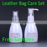 Hanor Quality Leather Care for Leather Bags/Cleaner Cream for Leather Purses/Genuine Leather Handbag Cleaning and Nourishing Set