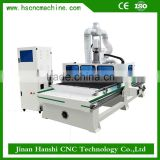 automatic 3d wood carving cnc router HS1325k automatic brooom heads brush making cnc machine hobby cnc wood router
