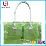 Inflatable green transparent PVC handbag ,PVC handbag ,Inflatable beach handbag,Inflatable Air handbag