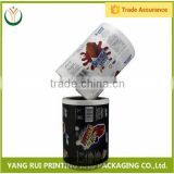 Buy direct from china factory Flexible Packaging snack packaging roll films,plastic pvc film roll