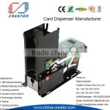 Ticket Vending Machine card dispensing/capturing RS232 Card reading & writing Card dispenser