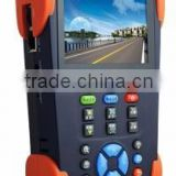 "All-in-One 3.5"" Handheld CCTV/IP Camera Tester - IPT-3500, MITS Taiwan. TDR Tester, Visual Fault Locator, Cable Finder"