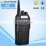 New launch 10W high power ZASTONE ZT-A9 UHF400-480MHz two way radio