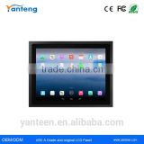 Aluminun alloy 15inch android industrial panel pc with energy-saving low power consumption