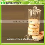 DDC-B030 Trade Assurance Stylish Acrylic Bakery Display Case for Pie