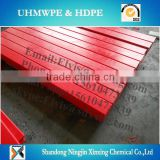 irregular UHMWPE/HDPE UHMWPE slid way for Conveyor wear strips with wearing strip anti slip