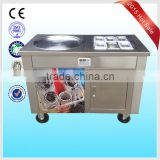 Factory supply ice pan / fry ice / roll ice cream making with cooling pans/trays machine