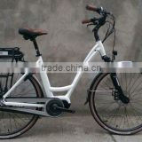 city style electric bike with bafang 8fun central motor 36V 250W nexus-7 speeds for eurpean market