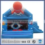 2014 New Design Inflatable Kids Air Jumper Sliding Castles For Commercial