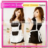 csww7080 Sexy Costumes Sexy Maidservant Uniform For Teen Girls