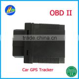 (OBD II) (850,900,1800,1900) Car GPS Tracker, Speed alarm, Electronic Fence, Call Monitoring Function