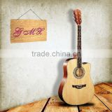 Kid beginner colour global thin acoustic musical instruments guitar