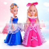 Hot Sell Manufacture in China Aurora Princess DIY Baby Toys Dress-up Barbie Doll