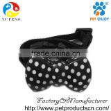 patent design HB-3 butterfly shape anti-bark collar bow-tie no dog barking collar barking stopped collar