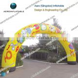 Circular inflatable arch/For christmas/winter/exhibition/advertising/commerce promotion/event/holiday/game/wedding/sport/racing