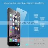 Free Sample !!! Magic Transparent Smart Touch Tempered Glass Screen Protector for Mobile Phone Usage,