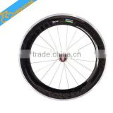 Full carbon fiber matt glossy oem carbon wheelset bicycle wheels,88mm carbon wheels Chincher and Tubular.