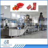 Automatic Full Production Line For Canned Tomato Paste Tin Can Making Machine