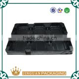 High quality black plastic PCB vacuum formed tray / antistatic ESD tray