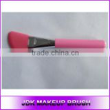 Angled Silicone Face Spatula Makeup Silicone Foundation brush JDK Pink facial mask Makeup brush