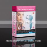 face&body scrub packaging electric face clean brush skin whitening machine