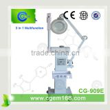 CG-909E 3 in 1 Supersonic Magnifing lamp and steamer skin care facial machine for salon use