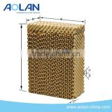 High Efficiency cooling pad water air cooler/evaporative cooling pad for poultry farm/ gen air water filter