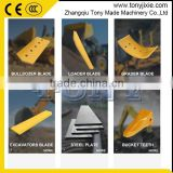 (H) bolt on scraper blade scraper cutting edge 4T2895 for construction machinery parts