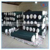 cheap decorative pvc coated chain link fence for zoo,shade net fence plastic chain link fencing
