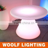 Household and Coffee Shop Used Illuminated LED Flashing Round LED Coffee Table LED Home Appliance