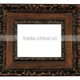 Authentic retro baroque picture frame