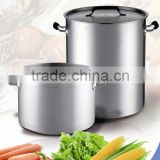 Hotel Stainless Steel Soup Pot Double Bottom for Home Brewing