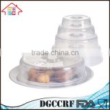 Food Grade Microwave Food Cover Lid For Dish And Plate