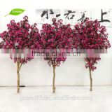 GNW BLS081 New Design Artificial Cherry Blossom Tree Branch 2 Meter for Decoration Good Quality