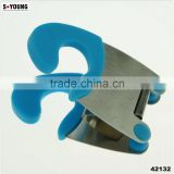 42129 silicone stainless steel pot clips