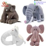 Wholesale Cheap Soft Cartoon Elephant Doll Cute Plush Animal Stuffed Elephant Toy With Big Ears