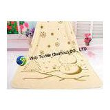 Snowflake Patterned Microfiber Hair Towel ,  Children Beach Towel