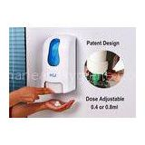 ADA Compliant Hand Wash Foam Manual Soap Dispenser For Public Washroom