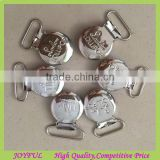 Wholesale Cheap OEM Logo Metal Suspender Clips