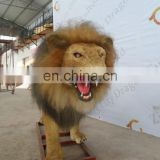 Life Size Outplaygroud Simulation Animal Lion