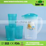 1.5 L water pitcher with 4pcs