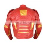 Real Leather Motor bike Jacket For Men