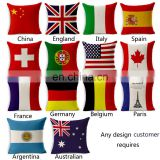 Household articles bolster home supplier nation flag bolster banner wholesale