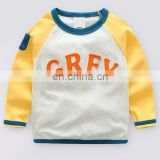 Wholesale children clothing high quality boy's print sweatshirt casual custom hoodies for boy