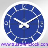 oversize wall clock for tower building