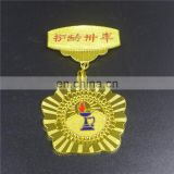 zhongshan brass sport medallion acrylic badge