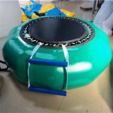 Inflatable Trampoline Sport Water Toys Green