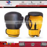 Leather Gel Boxing Gloves Fight Punch Bag Muay thai MMA Kickboxing Pad CHK